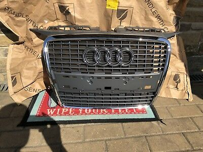 genuine audi a3 8p front bumper grille 2003 2008. Black Bedroom Furniture Sets. Home Design Ideas