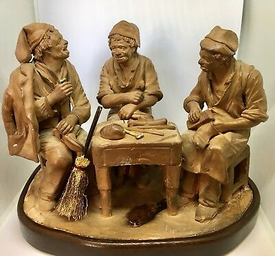 Terracotta Group of Shoemakers 18th century German