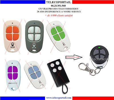 Telecommande Compatible Scs Sentinel Opengate Onegate Sg1 Sg2 Sg3 Scsg Scs1 2 3