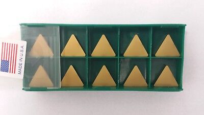New World Products TPG 322 M40 C7 CVD Multi Coat Carbide Inserts TPGN160308 10pc