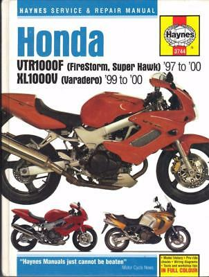 haynes manual honda vtr1000f firestorm super hawk 97 07 Honda VTR1000F Parts Honda VFR750
