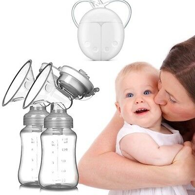 Dual Electric Breast Pump and Automatic Massage for Postpartum Prolactin USB