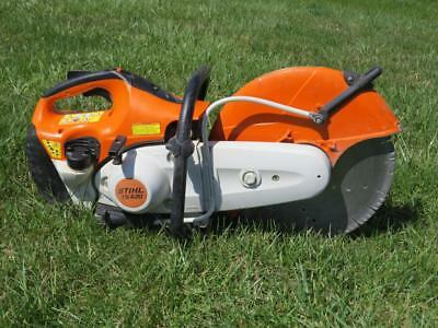"Stihl TS 420 Cutquick Gas Powered Wet/Dry Concrete Saw 14"" – Runs Great!"