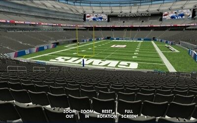2 Tickets Chicago Bears At New York Giants 12/2/2018 - Lowers!