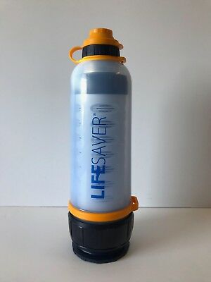LifeSaver Water Filter Bottle Clean Water Every Time #06009