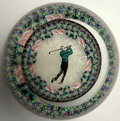 Large Perthshire Limited Edition Paperweight  / Briefbeschwerer