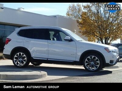 X3 xDrive28i 2015 BMW X3 xDrive28i AWD X Line Pano Roof Driving Assistance Package