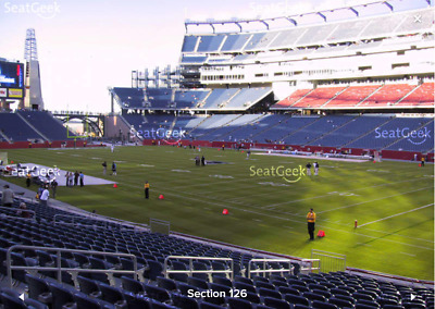 2 Tickets Indianapolis Colts At New England Patriots 10/4/2018 - Lowers!
