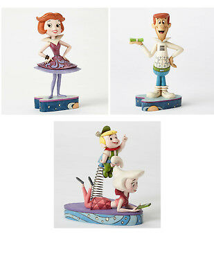Hanna-Barbera by Jim Shore Enesco The Jetsons MEET JETSON Figurines Bundle of 3