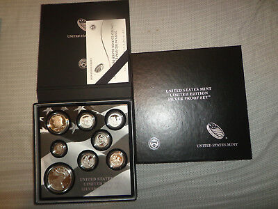 2017 U.S. Mint Limited Edition Silver Proof Set, 8 Proof Coins, 1oz Silver Eagle