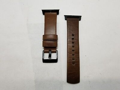 NOMAD Modern Horween Leather Strap For Apple Watch 42mm - Brown Patina used
