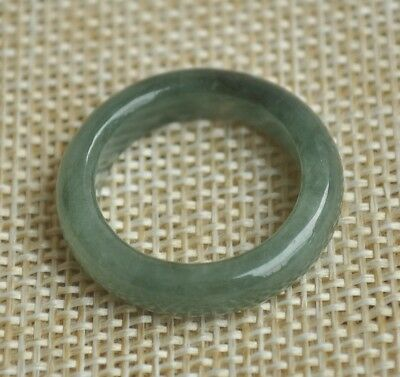 Certified 100% Natural A Jade jadeite pendant~Ring(戒指USA8) M33