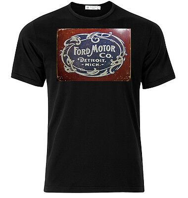 Ford Motor Company - Graphic Cotton T Shirt Short & Long Sleeve