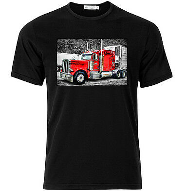 Peterbilt - Graphic Cotton T Shirt Short & Long Sleeve