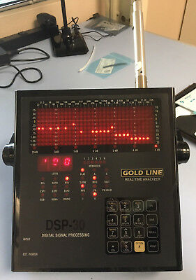 Gold Line DSP-30 Real Time Audio Spectrum Analyzer