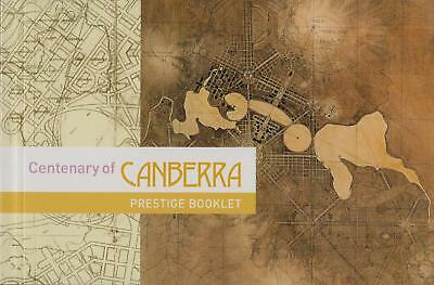 CENTENARY of CANBERRA PRESTIGE BOOKLET of AUSTRALIA STAMPS - MINT & PERFECT
