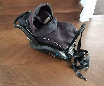 STRIDER PLUS Infant carrier, baby car seat capsule with base - used - Steelcraft