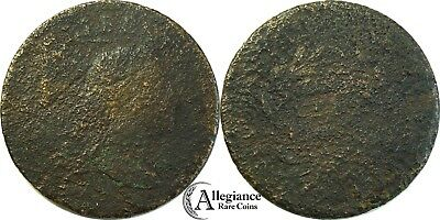 1795 1c Flowing Hair Large Cent S-76b rare old type coin penny early date money