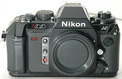 nikon n2020 af 35mm film camera w body cap tested ok has new rh picclick com Nikon 2020 Film Camera Nikon 2020 Film Camera
