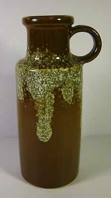 Vintage 60's-70's Brown Lava Scheurich Keramik West Germany Pottery 401-20