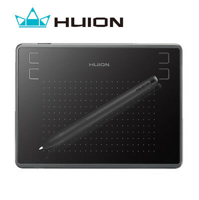 Huion H430P OSU Graphic Drawing Tablet Battery-free Stylus 4096 Levels 4 Keys US