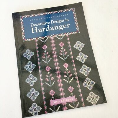Decorative Designs in Hardanger, PB Book by Gina Marion Milner Craft Series