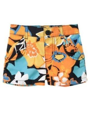 NWT-Gymboree-Tropical-Bloom-Floral-Short-Size 3T