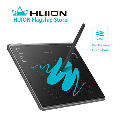 USED Huion H430P OSU Tablet Graphics Drawing Pen Tablet Battery-free Pen 4096