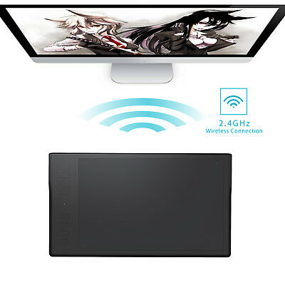 USED Huion Q11K Wireless Digital Graphic Drawing Tablet Pad 8192 with 8 Hot Keys