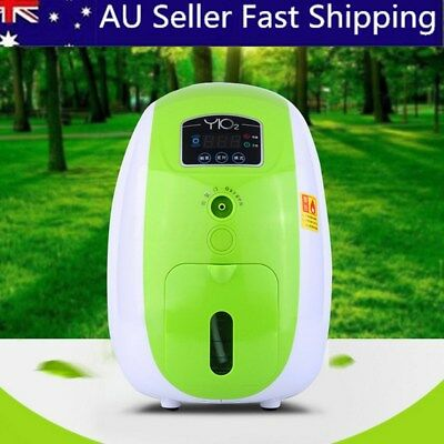 1-5L/min Portable Full Intelligent Home Oxygen Concentrator Generator Machine