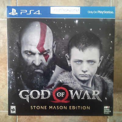 God of War: Stone Mason Limited Edition (PlayStation 4) -Game Disc Not Included-