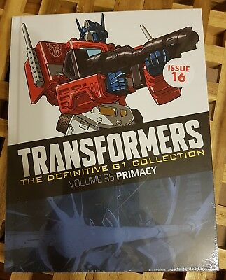 Transformers The Definitive G1 Collection Vol 35 Primacy Comic Book - NEW