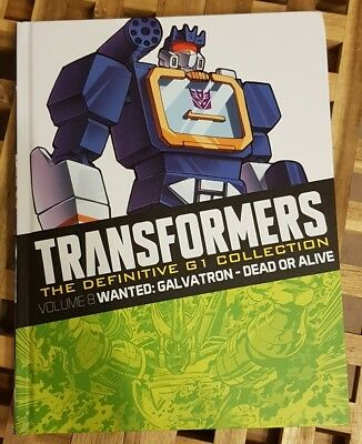 Transformers The Definitive G1 Collection Vol 8 Dead Or Alive Comic Book - NEW