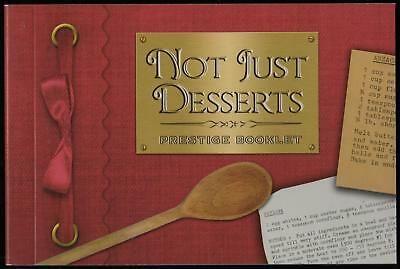 NOT JUST DESSERTS PRESTIGE BOOKLET of AUSTRALIAN STAMPS - MINT & PERFECT