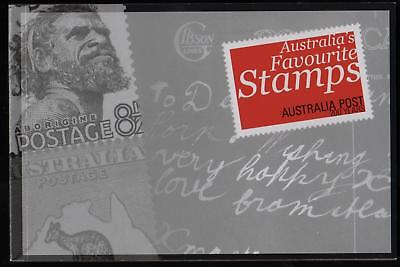 AUSTRALIA'S FAVOURITE STAMPS PRESTIGE BOOKLET of AUSTRALIAN STAMPS - MINT