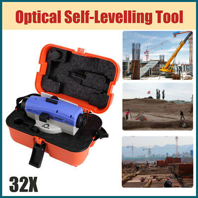 Accurate 32X Magnification Auto Optical Level Self-levelling Angular&Horizontal