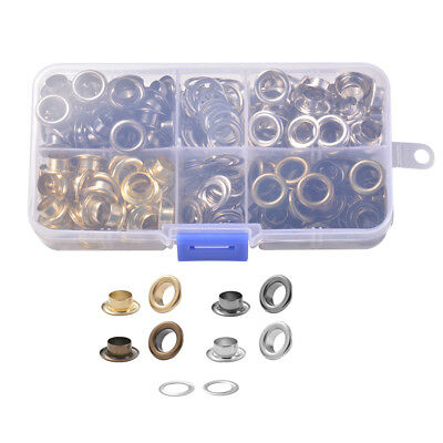8mm Eyelet Grommet with Storage Box for Canvas Banner Leather Craft Art CR051