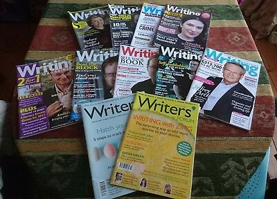 Collection of Writing Magazine & Writers Forum