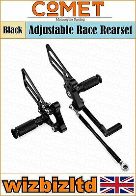 Comet Black Adjustable Rearset Ducati 749 / 999  RSDU02BK