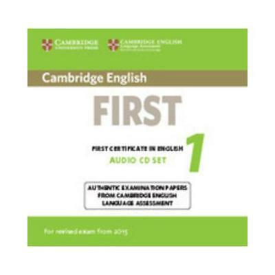 Cambridge English First 1 for Revised Exam from 2015 Audio CDs (2) by Cambrid...