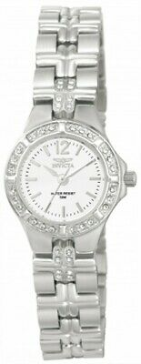 Invicta 0126 Women's Wildflower White Dial Stainless Steel Watch