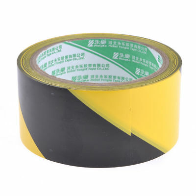 10m Black Yellow Floor Adhesive Hazard Warning Caution Safety Stripe Tape