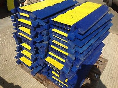 30 x Heavy Duty Temporary Roadway Ramp Cable Protector