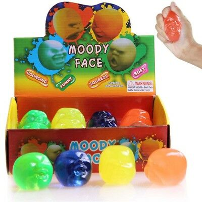 Funny Squeeze Face Balls Decompression Toy Anti Stress Pressure Reduce Toy Gifts