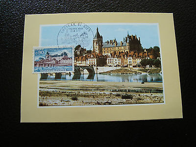 FRANCE - card 1st day 18/8/1973 (chateau de gien) (cy38) french