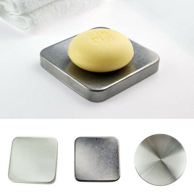 Soap Saver Stainless Steel Soap Case Soap Dish Holder Tray Bathroom Storage