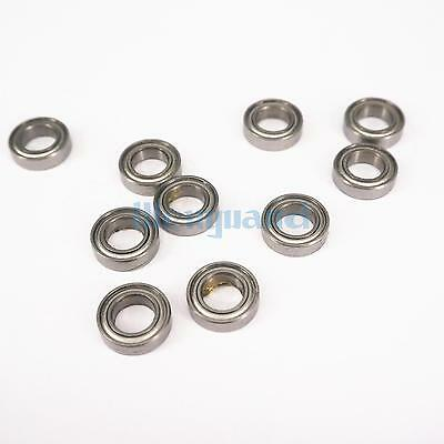 (10)MR148ZZ 8x14x4mm P0 ABEC1 Deep Groove Ball Miniature Bearing  Gcr15