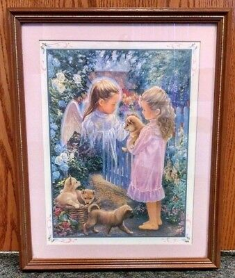 art homco home interiors courtyard framed wall picture lene alston