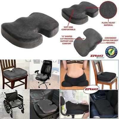 Coccyx Orthopedic Gel-enhanced Comfort Memory Foam Seat Chair Pillow Cushion Car