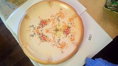Vintage Crown Ducal Louis Platter Large Plate Cake Plate Sandwiches Shabby Chic